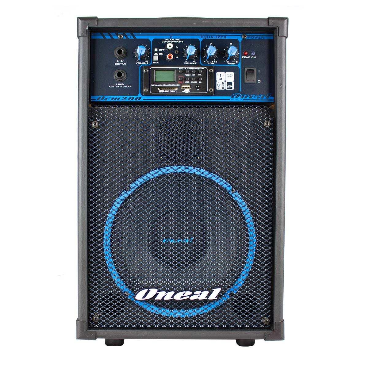 CAIXA ONEAL AMPLIFICADA MULTIUSO OCM290 USB/SD/FM