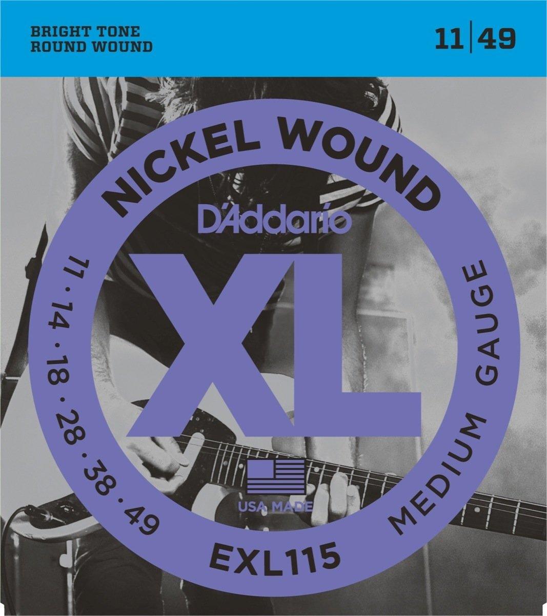 ENCORDOAMENTO DADDARIO GUITARRA EXL115B 011