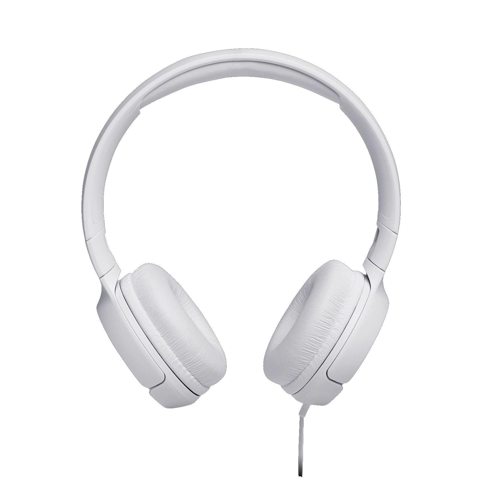 FONE DE OUVIDO JBL TUNE 500 WHT ON EAR