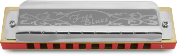 GAITA HERING FREE BLUES 7020-F