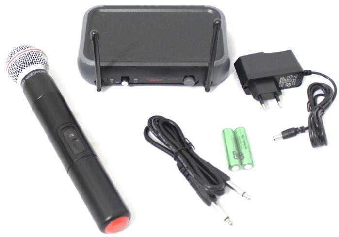 MICROFONE LEACS SEM FIO LC 101 VHF