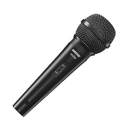 MICROFONE SHURE VOCAL COM FIO SV200