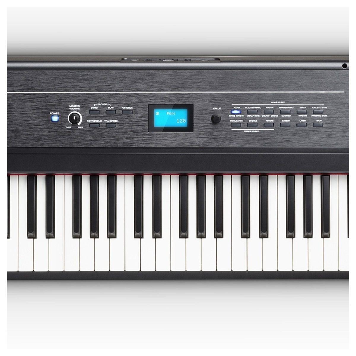 PIANO DIGITAL ALESIS RECITAL PRO 88 TECLAS PESADAS
