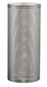 Vaso prata em vidro Pequeno 23,5cm - 7729 Mart