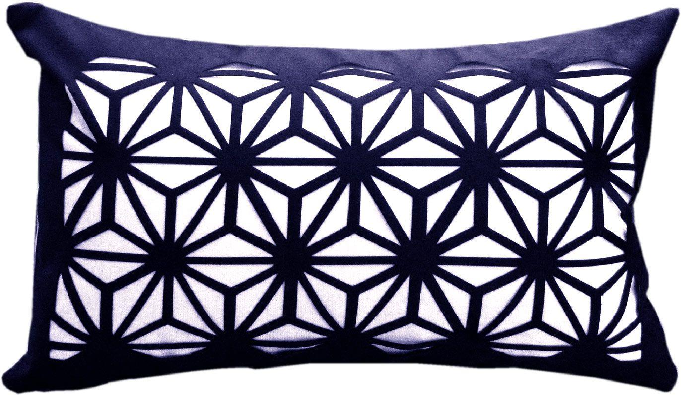 Capa Almofada Provence Vitral Azul 30x50cm
