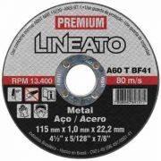 Disco de Corte Premium Aço Inox 110mm X 1,0 Furo 20mm