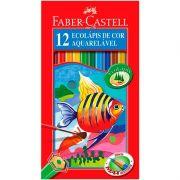 Lápis 12 Cores Aquarelável Faber Castell