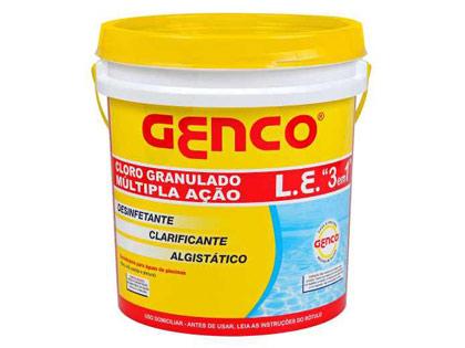 Cloro Multi Ação 3 x 1 Genco Balde 4,5 Kg