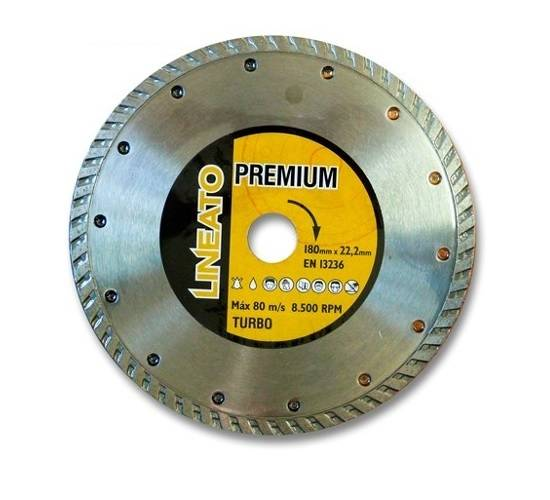 Disco Diamantado Turbo Premium 180mm 7