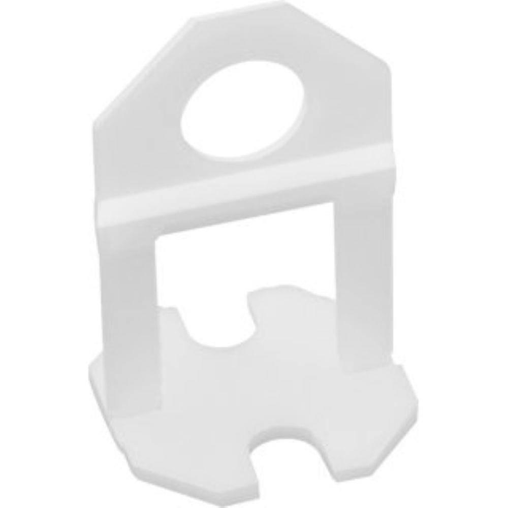 Espaçador Clip Para Nivelador De Piso 1,5mm 100 Peças