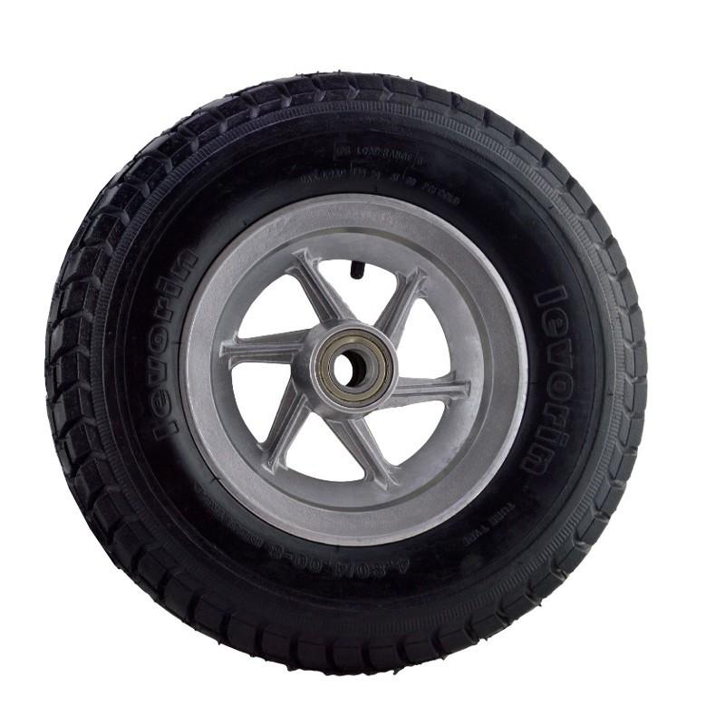 Roda De Aluminio Aro 8' 380kg Cada Pneu Levorin 4.8 Original
