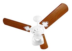 Ventilador de Teto Venti-Delta Branco/Magno 3 Velocidades 110V