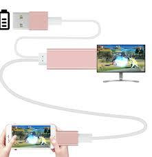 Cabo Dados Adaptador Hdmi Lightning Usb Apple Iphone Tv Ipad