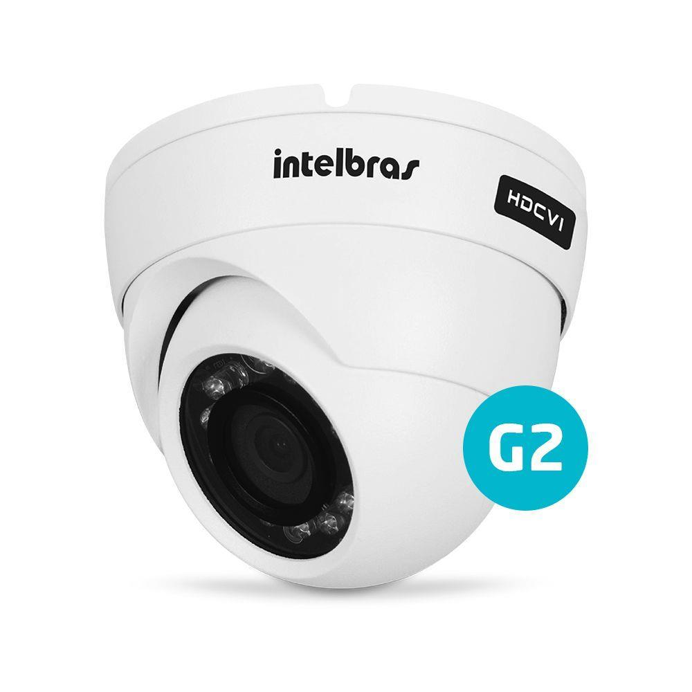 Câmera Bullet Infravermelho MULTHD Intelbras VHD 3120 D G3 HD 720p 3,6mm -  MUNDO CFTV 03233f10b4