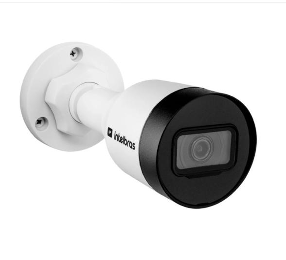 Câmera IP Intelbras VIP 3430 B, 4MP, 2K, PoE, 3,6mm, 30 metros