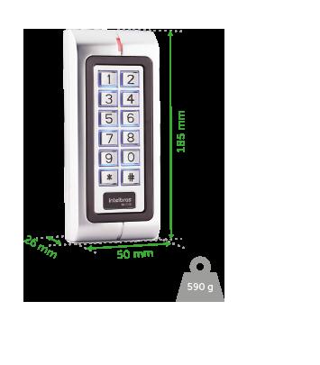 Controlador de Acesso 125kHz Intelbras SA 210E