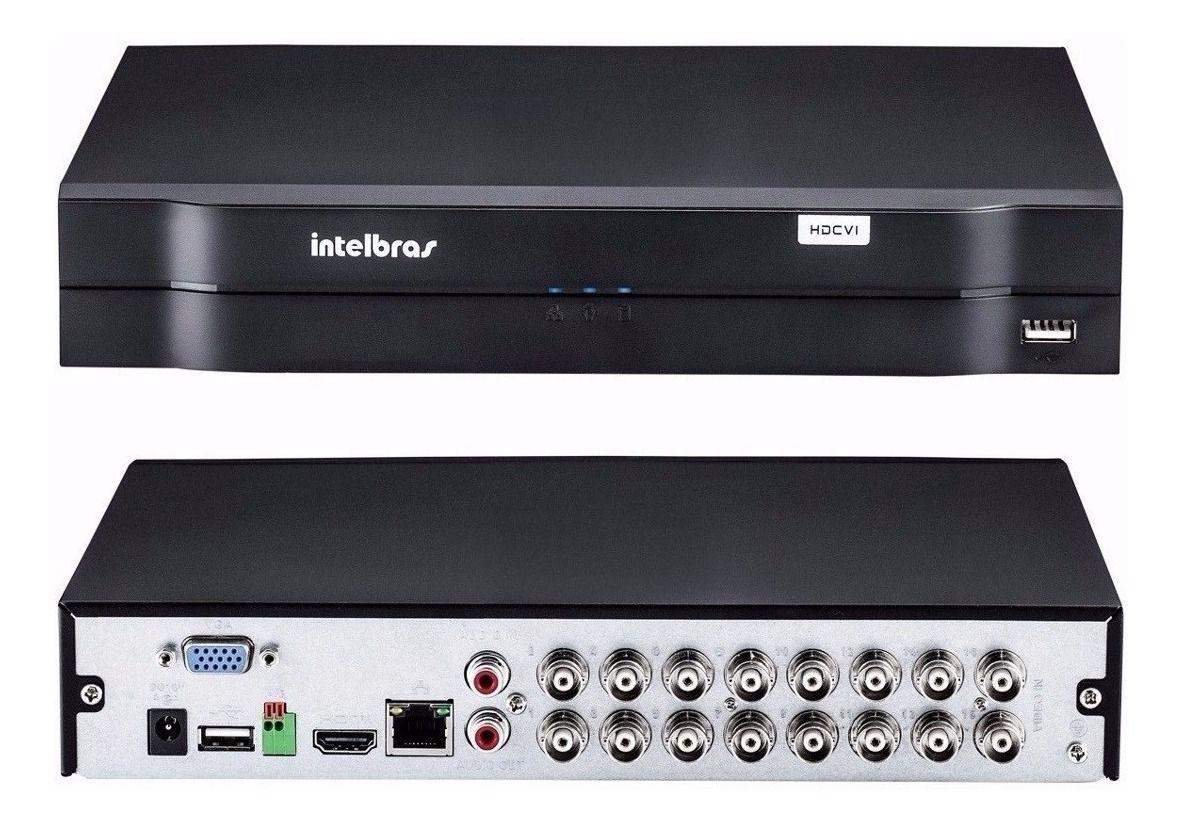 Dvr Intelbras Mhdx 1116 Multi Hd 16 Canais Full Hd 1080p Lit