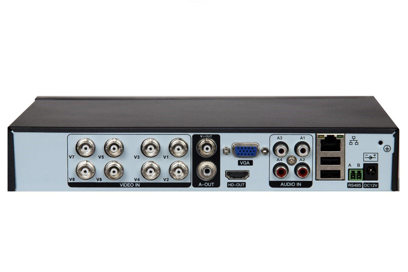 Dvr Stand Alone 08 Canais Vexus 1080 Mult 5x1 Turbo Hd