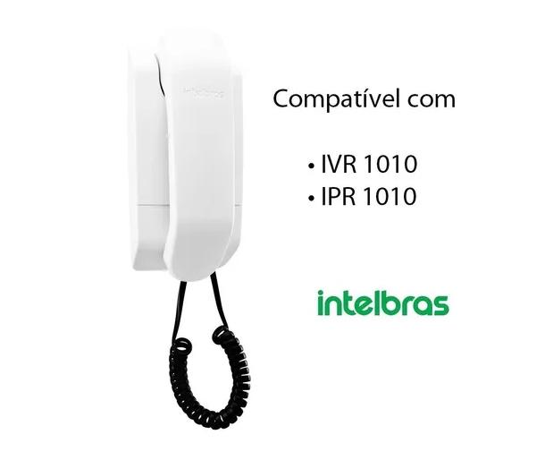 Extensão De Aúdio Para Video Port Ivr 1010 Ipr1010 Intelbras