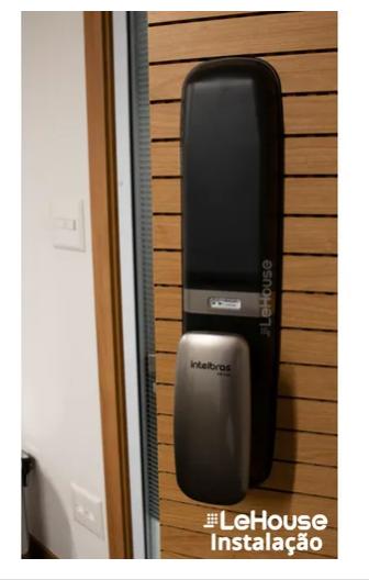 Fechadura Eletrônica Digital Intelbras Fr 630 Push Pull - Lehouse