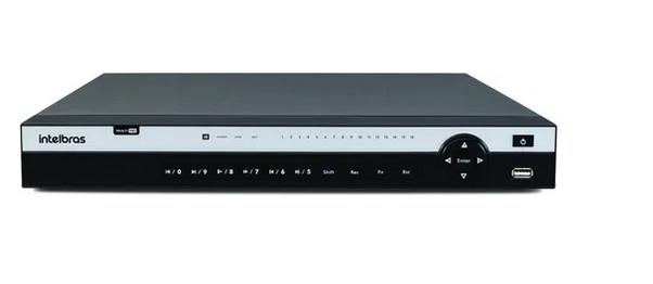 Gravador Dvr 16 Canais 4k Intelbras Mhdx 5216 4k Multihd