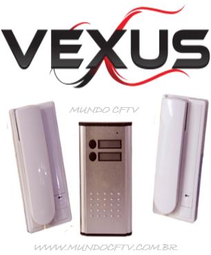 Porteiro Residencial Vexus Completo Para 2 Pontos.