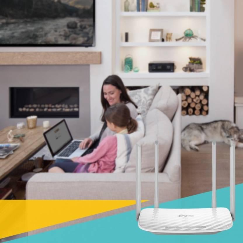 Roteador TP-Link Wireless Archer C50 Dual Band AC1200 4 antenas