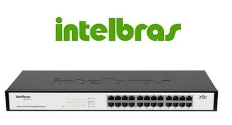 Switch 24p Gigabit 10/100/1000mbps Qos Sg2400qr Intelbras 2 opiniões