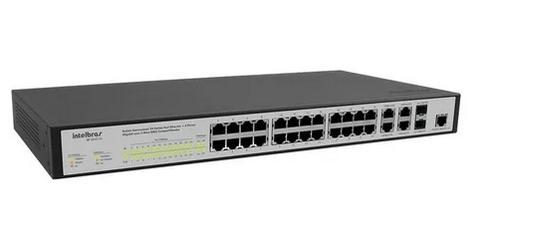 Switch Gerenciável 24P FAST+2P GIGABIT+2P GBIC-SF 2622MR L2