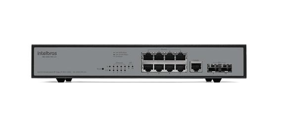 Switch Gerenciável 8P Giga + 2P MINI-GBIC - SG 1002 MR L2+