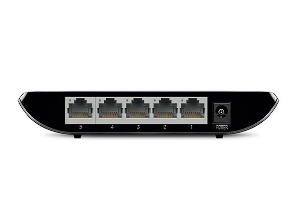 Switch Gigabit de Mesa de 5 portas TL-SG1005D