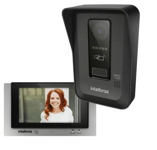 Vídeo Porteiro Eletrônico Sem Fio Allo Wt7 Intelbras Wi-fi