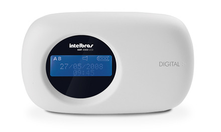 XAT 2000 LCD Teclado LCD para central de alarme monitorada