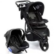 Carrinho de Passeio 3 Rodas Off Road Travel System com Bebê Conforto Onyx - Infanti
