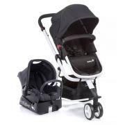 Carrinho de Bebê Travel System Mobi Preto e Branco - Safety 1st