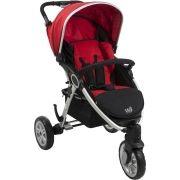 Carrinho de Bebe W3 Red (Vermelho) - Burigotto