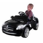 Carrinho Elétrico Infantil Mercedes Preto - Xalingo