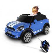 Carro Elétrico Mini Paceman 12v Azul - Belfix