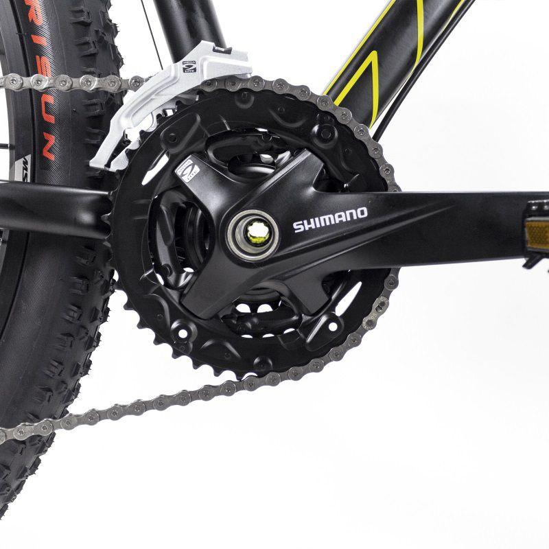 Bicicleta Aro 29 Jump PLUS MTB Trilha Alumínio Shimano 27v Amarelo/Preto - TSW