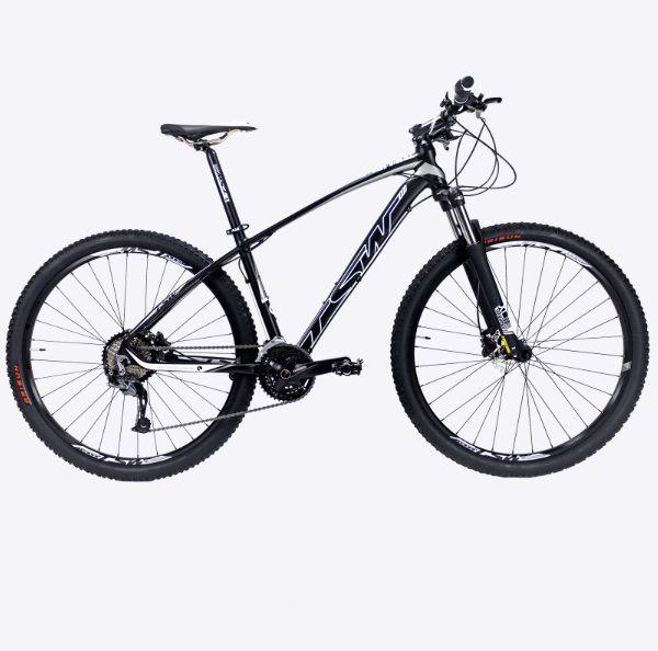 Bicicleta Aro 29 Jump PLUS MTB Trilha Alumínio Shimano 27v Preto - TSW