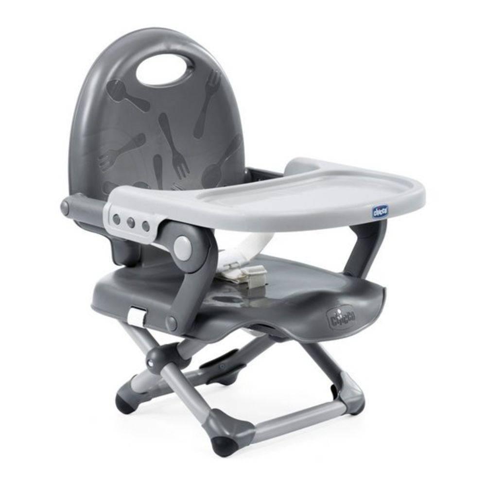 Cadeira de Alimentação Pocket Snack Gray (Cinza) - Chicco