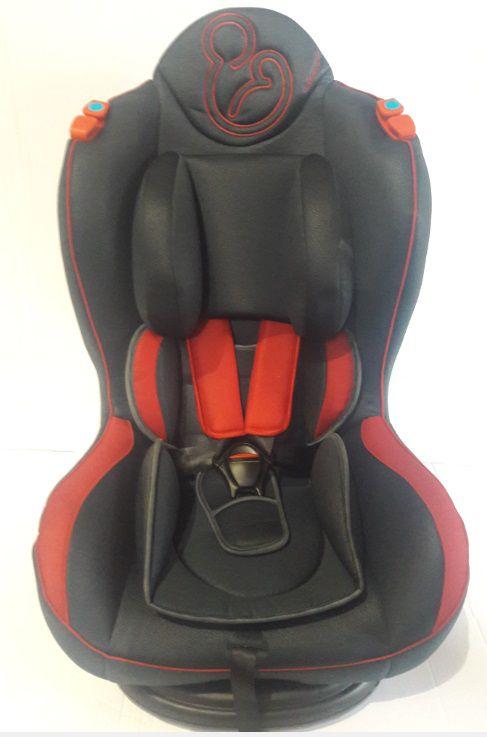 Cadeira de Auto Transbaby II Grafite / Vermelho - Galzerano
