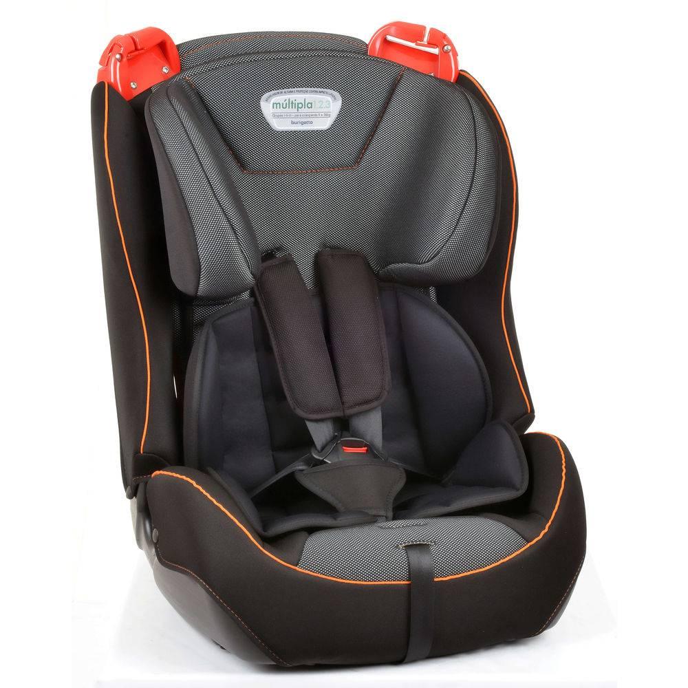 Cadeira para Auto Burigotto Múltipla Cyber Orange 9kg à 36kg - Burigotto