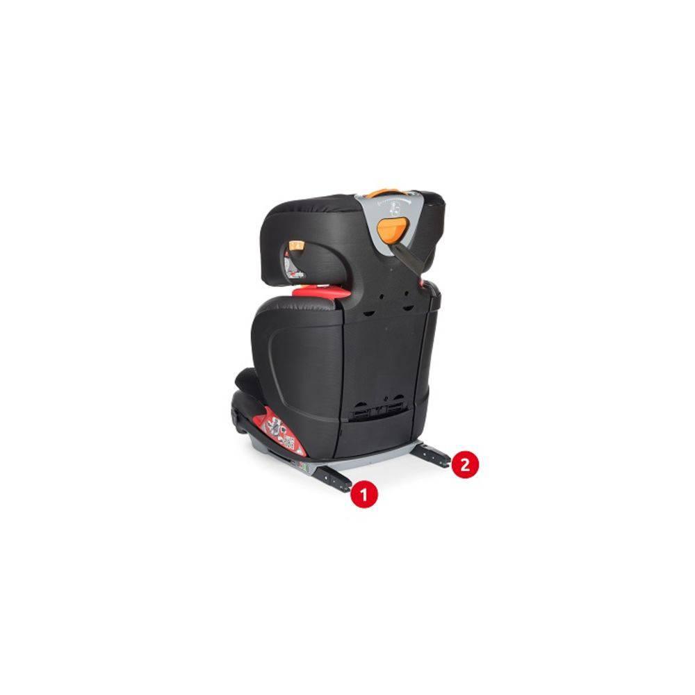 Cadeira para Auto Oasys 2-3 FixPlus EVO Jet Black - Chicco
