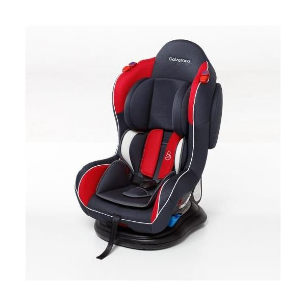 Cadeira Para Auto Transbaby Grafite/ Vemelha II - Galzerano