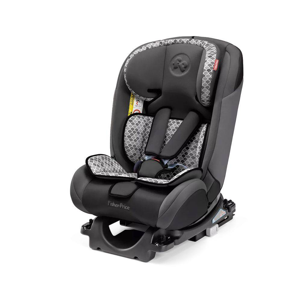 Cadeirinha para Auto de 0 a 36 kg - All-Stages Fix Cinza - Fisher-Price