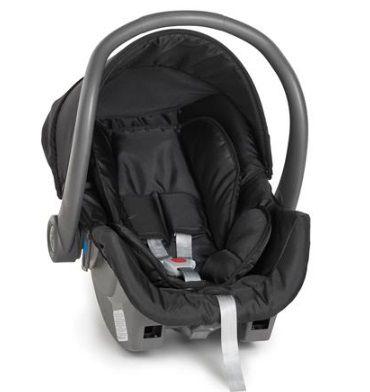 Carrinho 3 Rodas Cross com Bebê conforto Black (Preto) - Galzerano