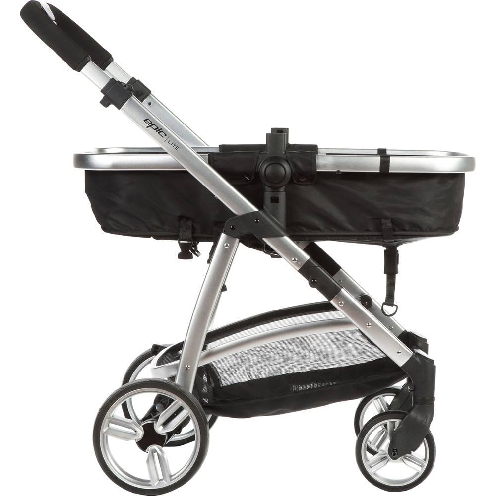 Carrinho com Bebê Conforto  Epic Light - Onyx (Preto) - Infanti