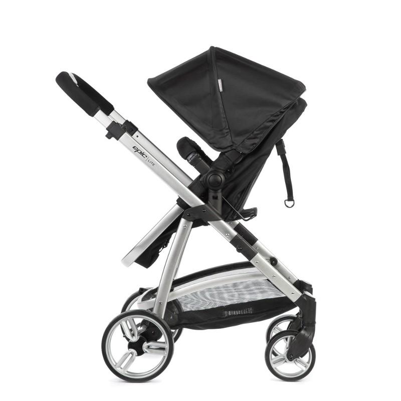 Carrinho com Bebê Conforto Travel System - Epic Light - Onyx - Infanti