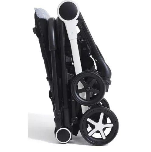 Carrinho com Bebê Miinimo Black Nicht + Cadeira Keyfit - Chicco